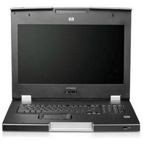 "HP TFT 7600 Rackmount Keyboard 17"" Monitor AG055A RKM"